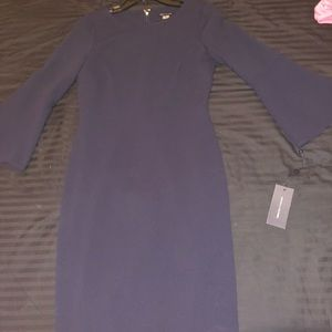 Beautiful navy blue dress!